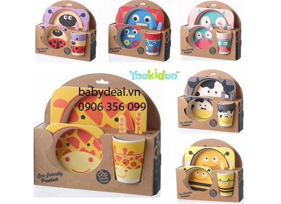 Bộ Chén Ăn Yookidoo cho bé, shop mẹ và bé, giá rẻ tại tp hcm