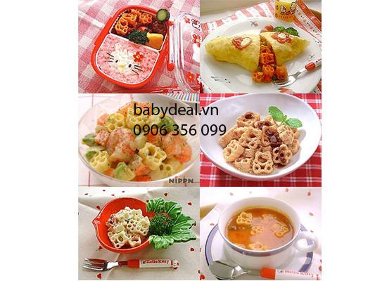Combo 2 Bịch Nui Hello Kitty Hồng cho bé, shop mẹ và bé, giá rẻ tại tp hcm