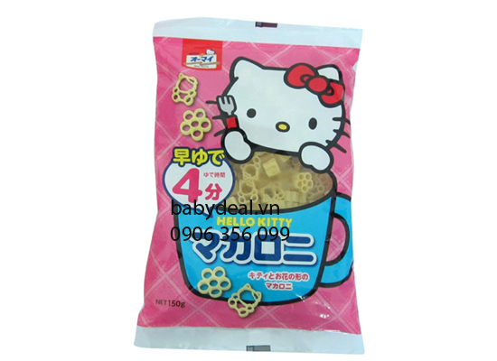 Combo 2 Bịch Nui Hello Kitty Hồng