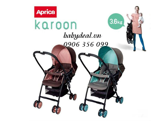 Xe Đẩy Aprica Karoon