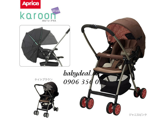Xe Đẩy Aprica Karoon Plus
