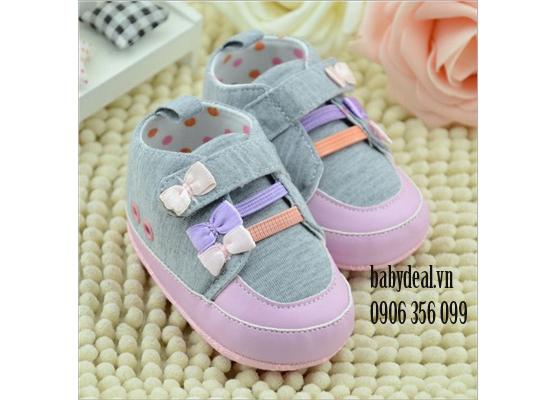 Giày Tập Đi Bé Gái- Mẫu 10 cho bé, shop mẹ và bé, giá rẻ tại tp hcm