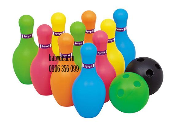 Bộ Đồ Chơi Bowling Mini Toyroyal