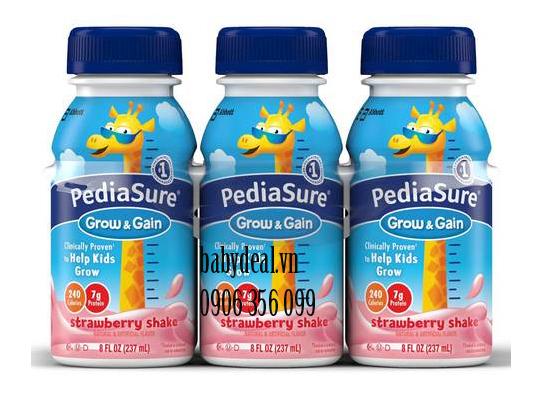 Sữa Nước PediaSure Mỹ Vị Dâu