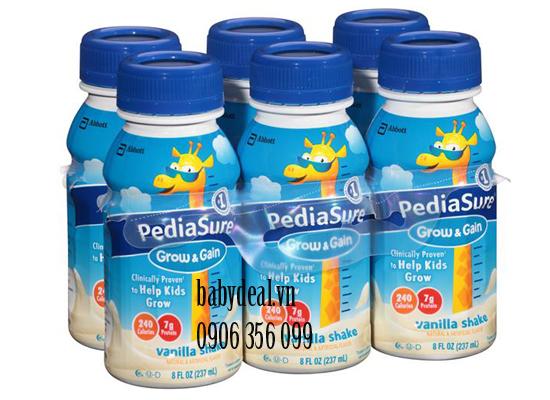Sữa Nước PediaSure Mỹ Vị Vani cho bé, shop mẹ và bé, giá rẻ tại tp hcm