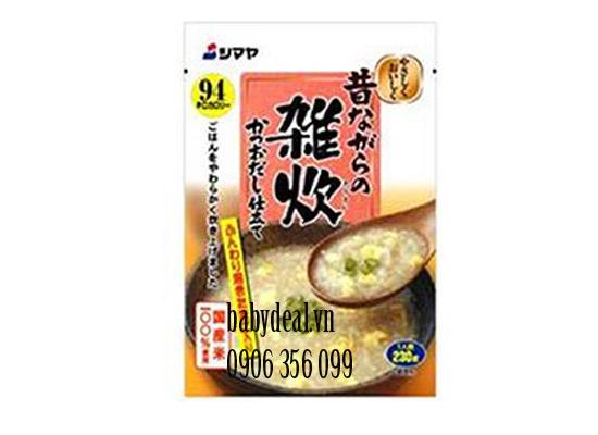 Cháo Shimaya Nhật Vị Trứng