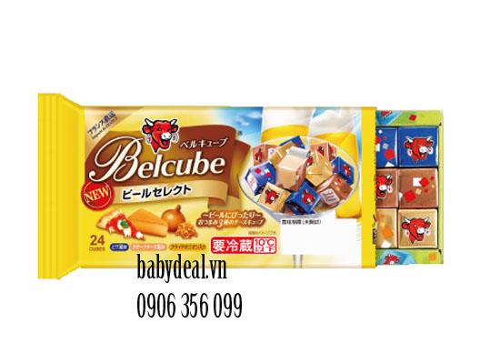 Phô Mai Belcube Nhật Vị Màu Vàng