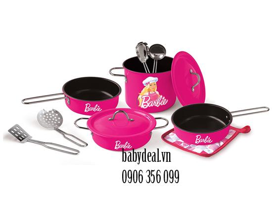 Bộ Dụng Cụ Nấu Ăn Champion Barbie 11 Món