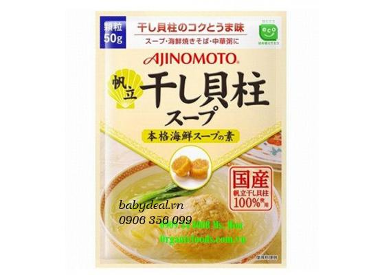 Hạt Nêm Sò Điệp Ajnomoto cho bé, shop mẹ và bé, giá rẻ tại tp hcm