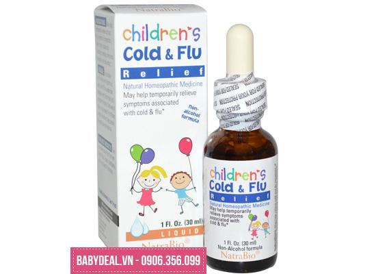 Thảo Dược Trị Cảm Cúm Children's Cold & Flu