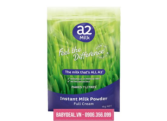 Sữa Tươi Dạng Bột Nguyên Kem A2 Úc