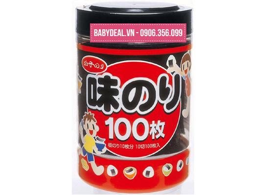 Rong Biển Ăn Liền 100 Miếng Nhật Bản