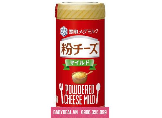 Phô Mai Rắc Powdered Cheese Mild 50g- Nhật Bản cho bé, shop mẹ và bé, giá rẻ tại tp hcm
