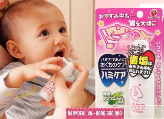 Xịt Chống Sâu Răng Hamikea Nhật Bản Cho Bé cho bé, shop mẹ và bé, giá rẻ tại tp hcm