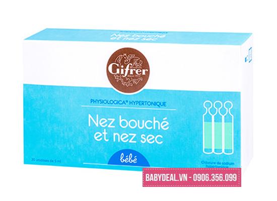 Nước Muối Physiologica Kháng Viêm Cho Trẻ Sơ Sinh -Hộp 20 Ống cho bé, shop mẹ và bé, giá rẻ tại tp hcm