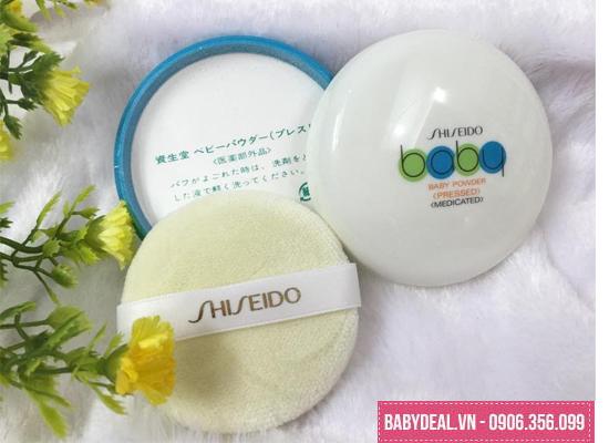 Phấn Rôm Dạng Nén Shiseido Baby Powder -Nhật Bản