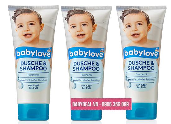Sữa Tắm Gội Toàn Thân Dành Cho Bé BabyLove - Đức