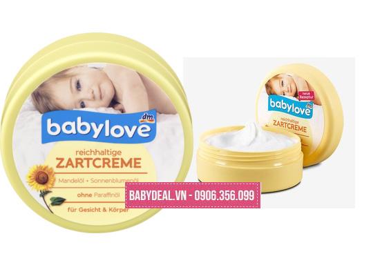 Kem Dưỡng Ẩm Toàn Thân Cho Trẻ Baby Love- Đức