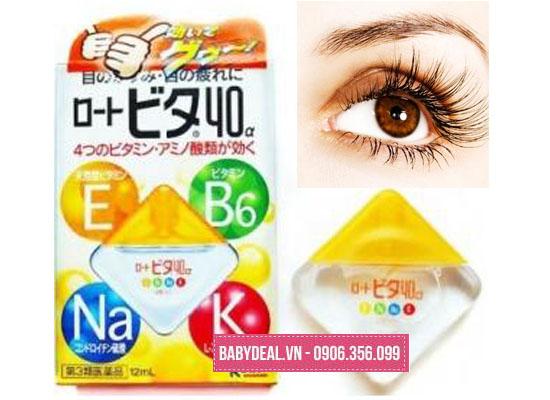 Thuốc nhỏ mắt Rohto Vita Nhật Bản