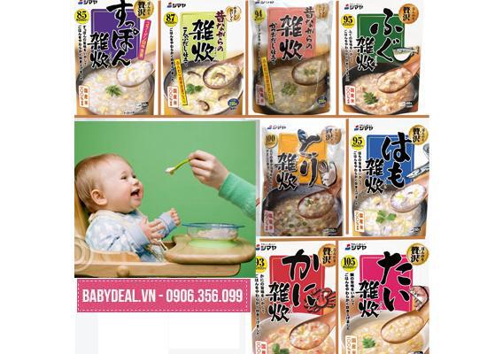 Set 5 Cháo Shimaya Đủ Vị- Nhật Bản