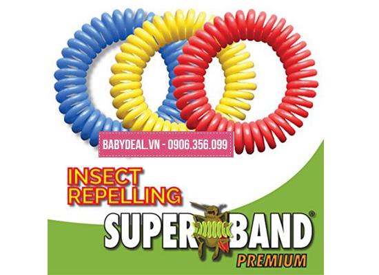 Vòng Đeo Chống Muỗi Superband- Mỹ