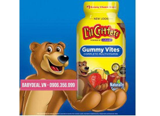Kẹo Dẻo Gummy Vites Multivitamin 190 viên cho bé, shop mẹ và bé, giá rẻ tại tp hcm
